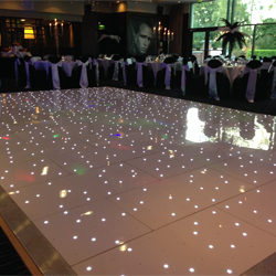 Starlight wedding led dance floor hire northern ireland ireland book our gloss white led dance floor and transform any venue solutioingenieria Gallery