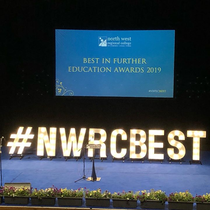Something a little different today. How Epic did our letters look for North West Regional Collage Awards Ceremony. #nwrcbest #lightupletters #letterhire #collagedays