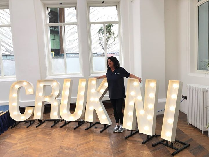 You gotta love letters in lights. What a shot all set up for last weekends Cancer Research UK NI Event In the breathtaking Titanic Hotel in Belfast #crukni #lightupletters #eventstyling #eventdecorati...