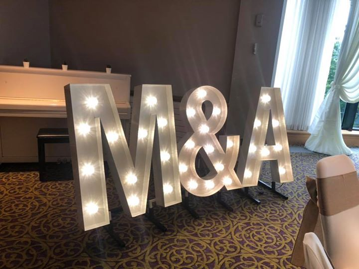 Special offer hire a set of our gorgeous letters for only £150 usually £240. This is a special offer running until July. Travel fees may apply. Please send a pm for more details and to check availabil...