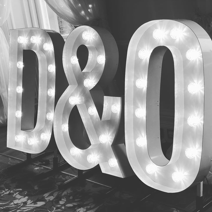 Personalise yourselves in lights. Congratulations to our lovely couple who had their Wedding reception in the charming Cultra Manor. We also supplied their led dancefloor for the all important dance m...