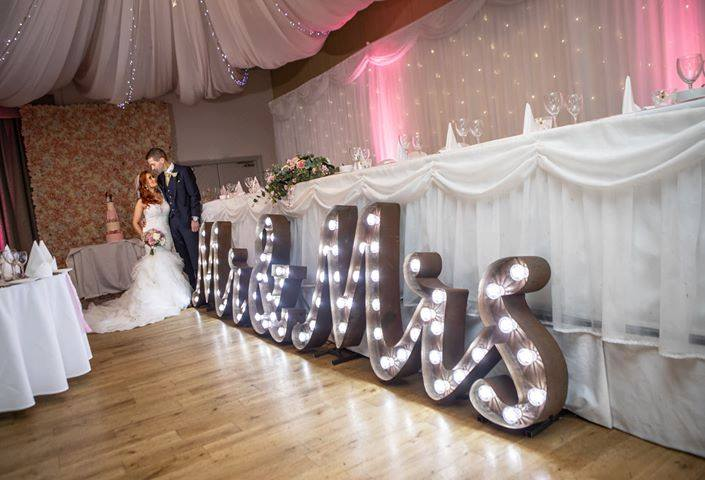 Looking to add a personal touch that offers the wow factor to your Wedding day or Event. Our beautifully made letters, LOVE, words or initial & initial makes the perfect choice.  We also offer rus...