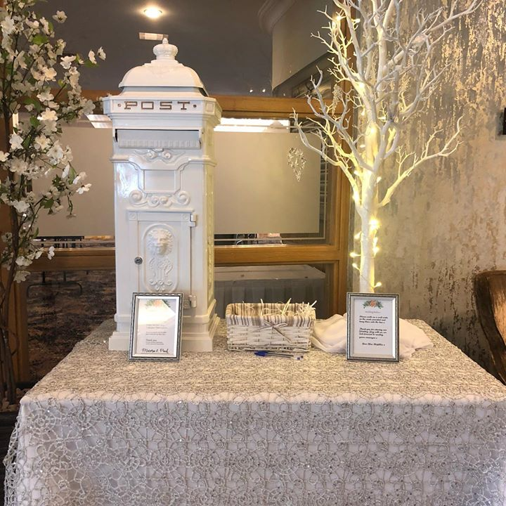 Congratulations to another of our couples. Who celebrated their Wesding day in the Killyhelvin Hotel and that view gorgeous. We supplied studded silver overlays, Light up initials and love, Wedding po...